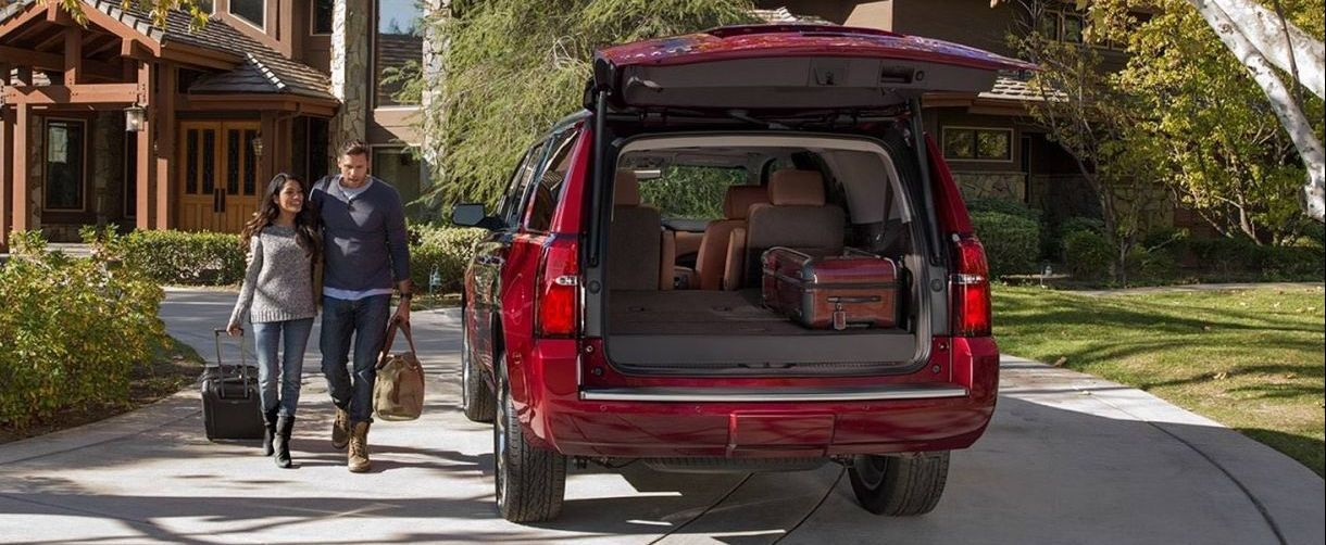 2017 Chevy Tahoe Cargo Space