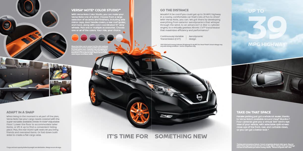 Nissan Versa Note | San Antonio | Sales, Service & Parts