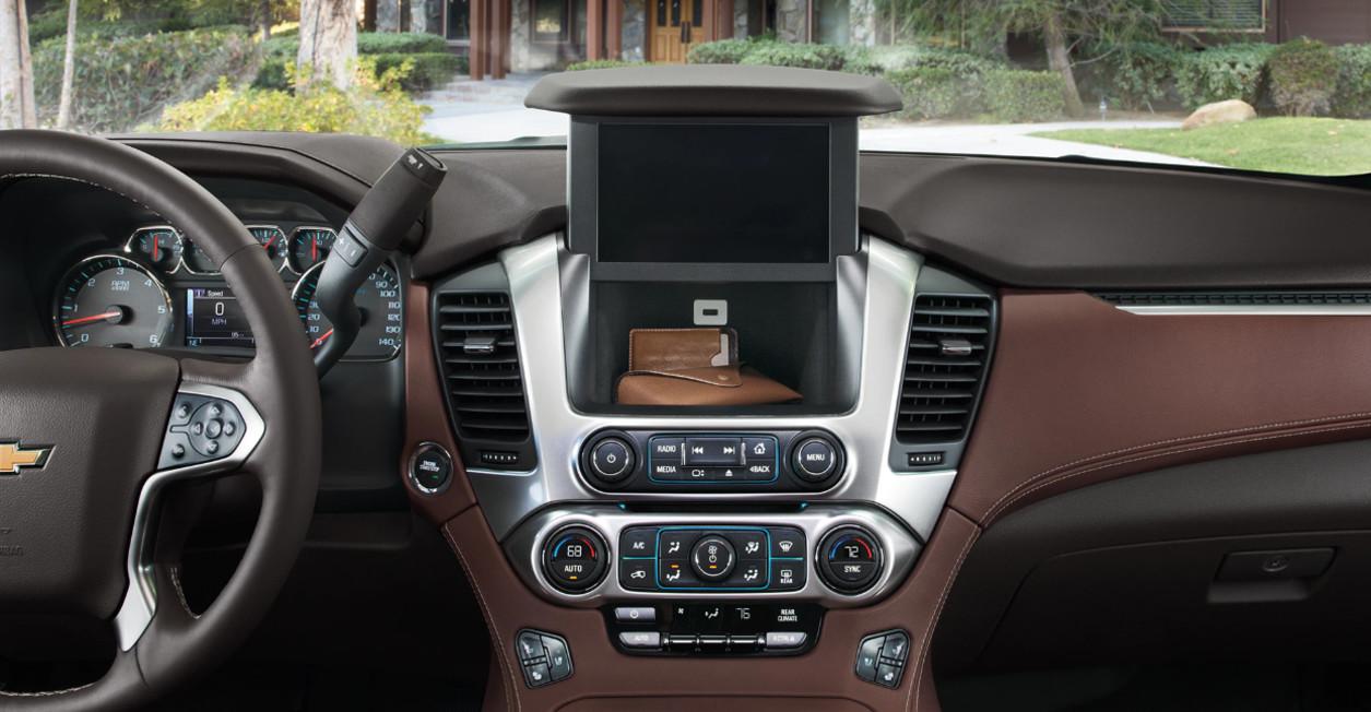 2020 Chevrolet Suburban Center Stack