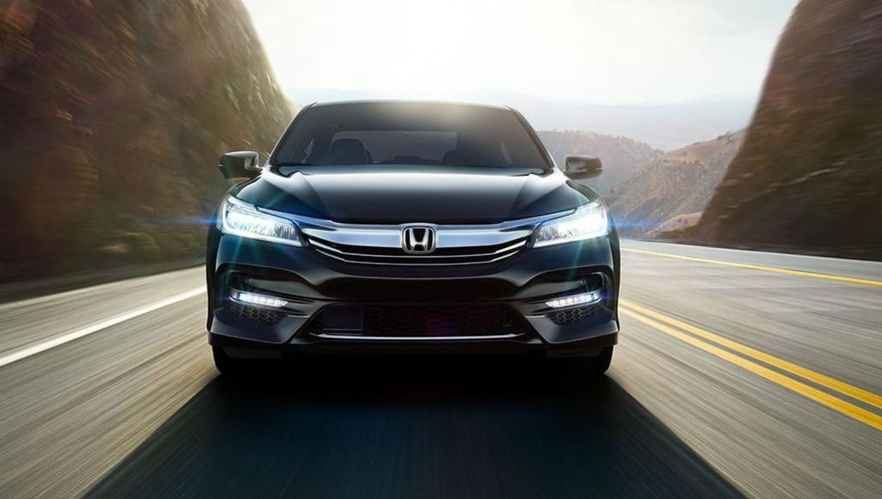 Bright LED Lights Lead the Way in the Honda Accord