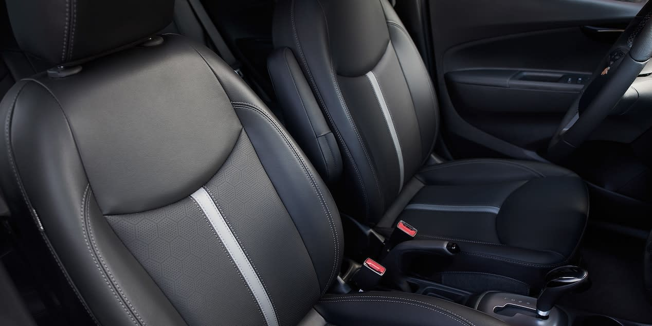 Interior of the 2019 Chevrolet Spark