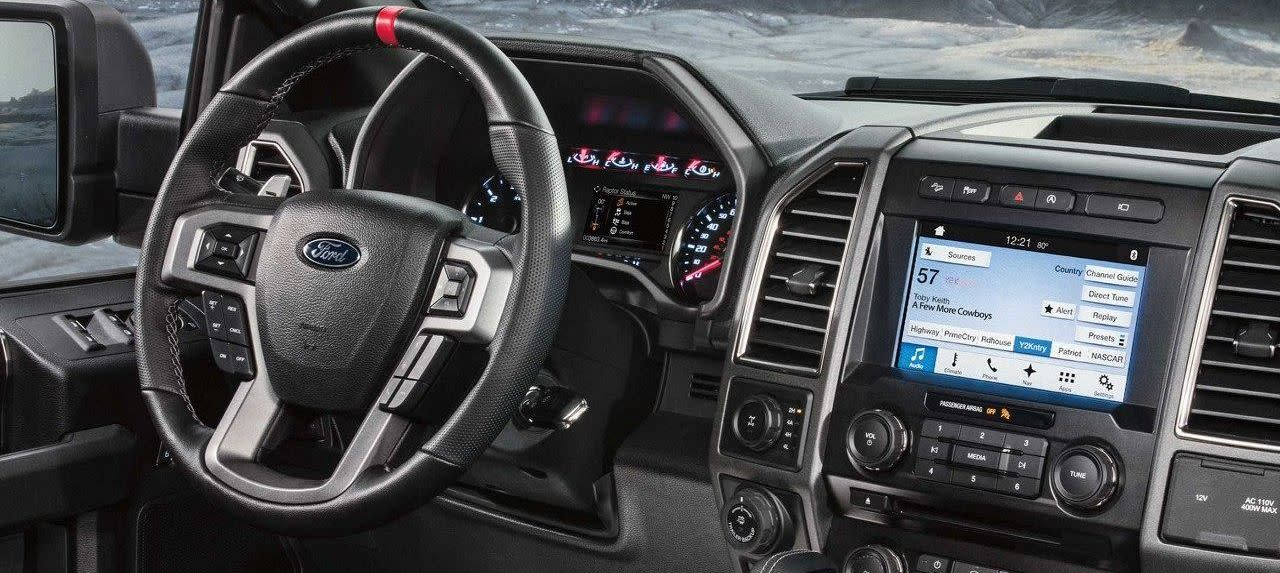 Interior of the F-150