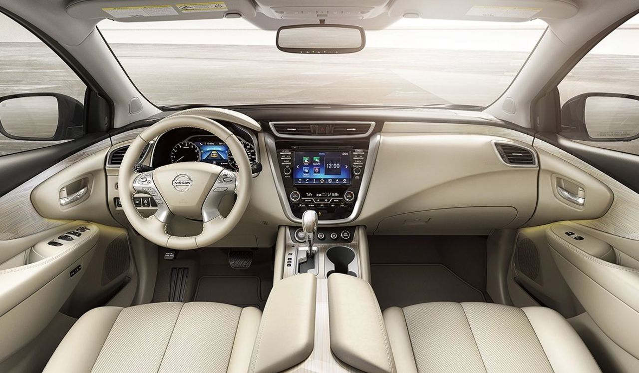 Interior of the 2017 Murano