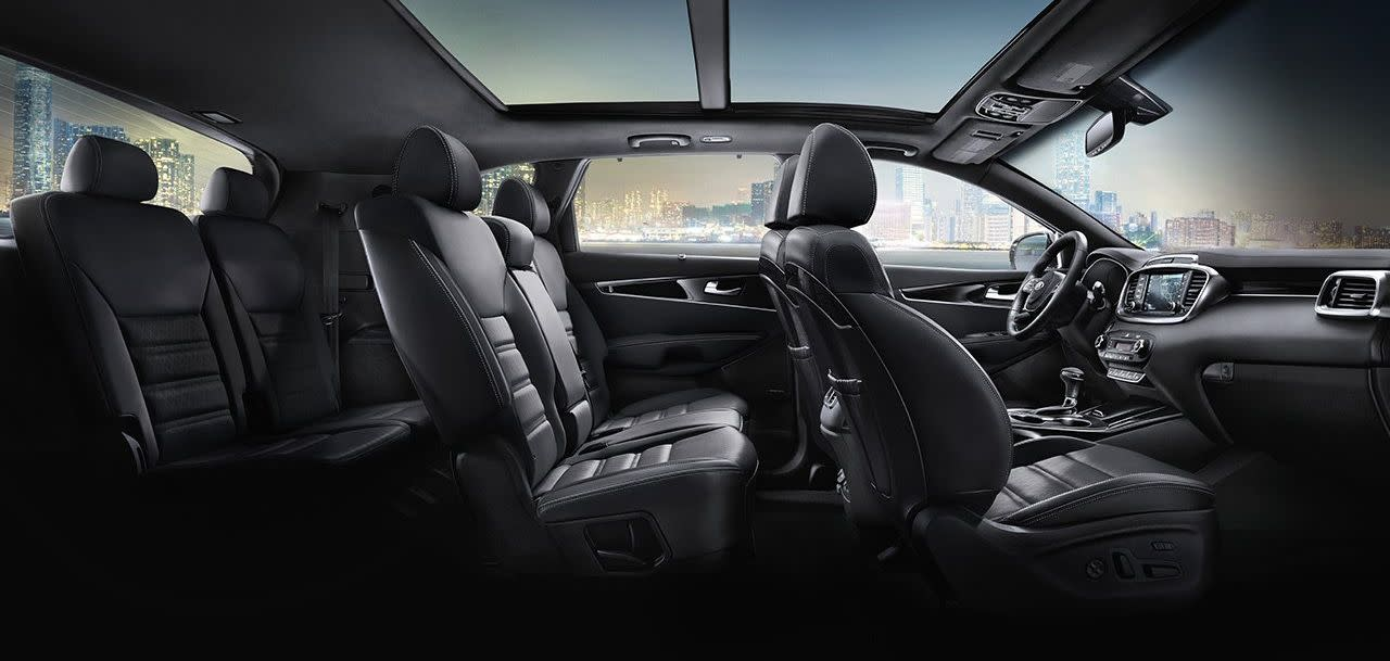 Comfortably Fit in Seven in the 2019 Sorento!