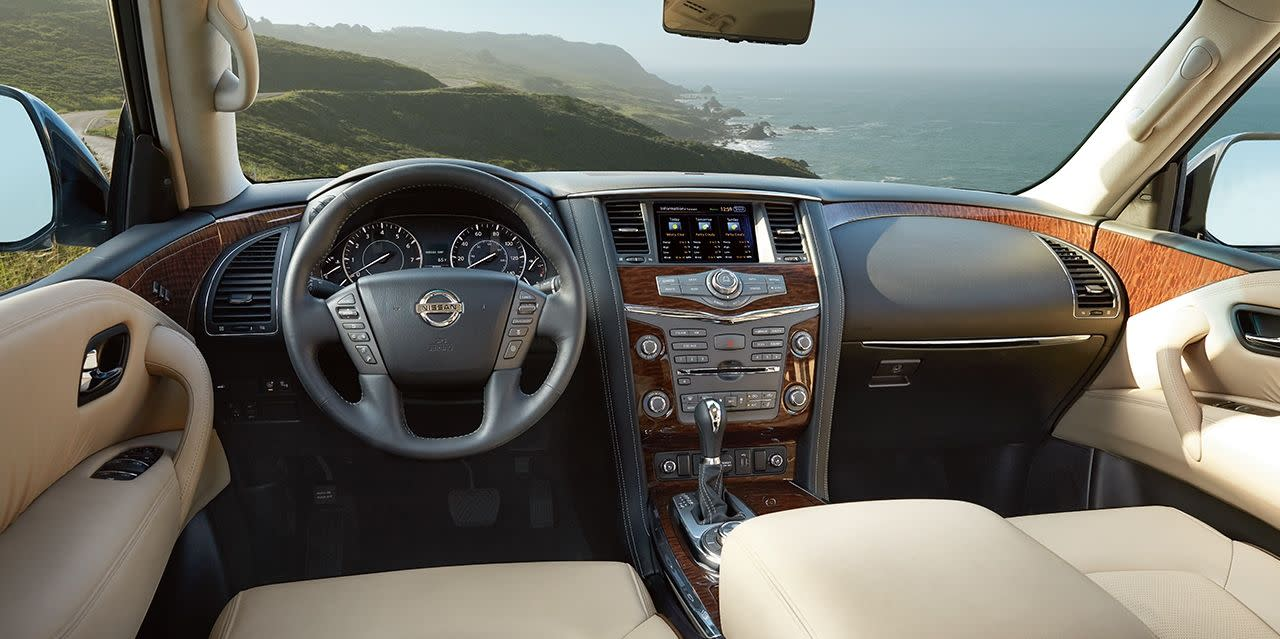 Enjoy Every Second in the Nissan Armada!