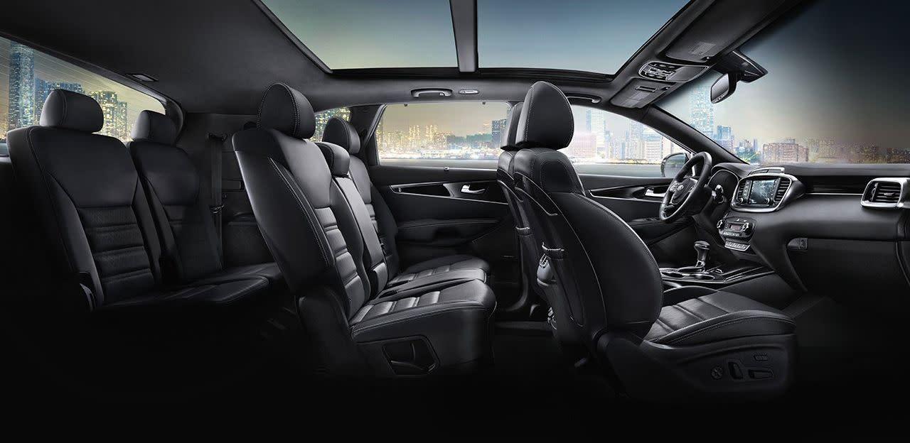 Plenty of Space Inside the Kia Sorento