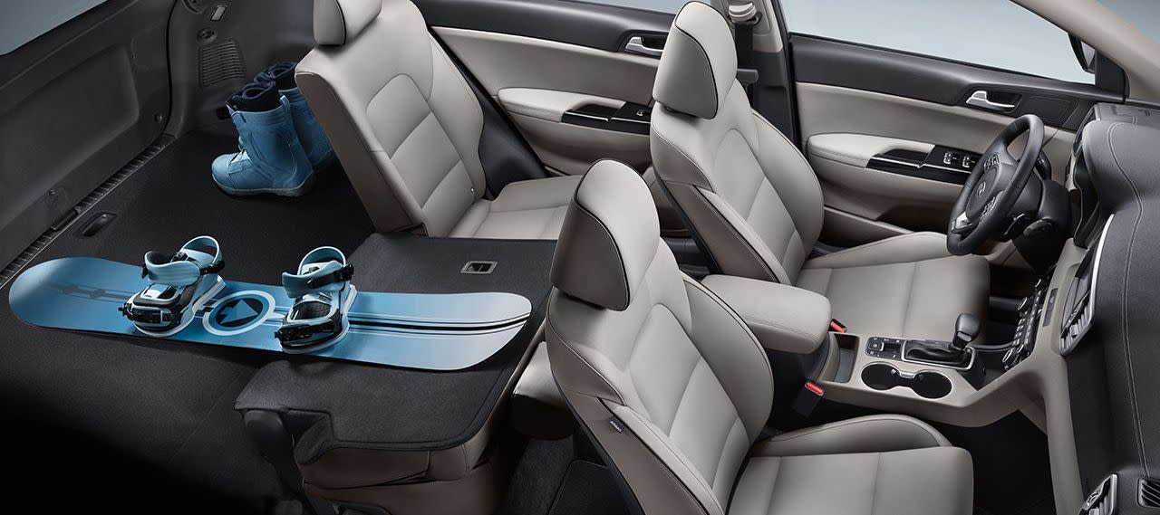 2019 Kia Sportage Interior Seating