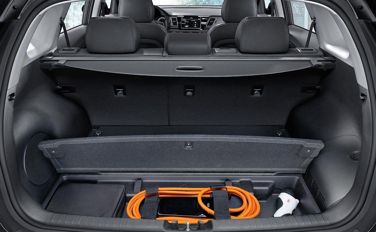 Kia Niro PHEV Interior Charging Storage