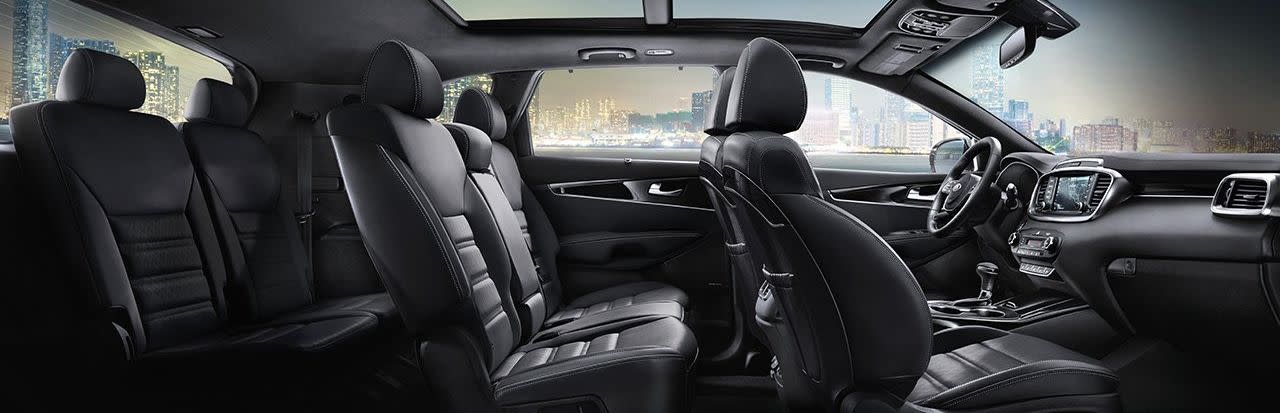 You'll Love the Incredible Capacity of the Sorento!