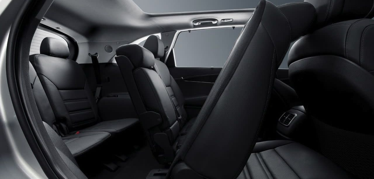 Rear Seating in the Sorento