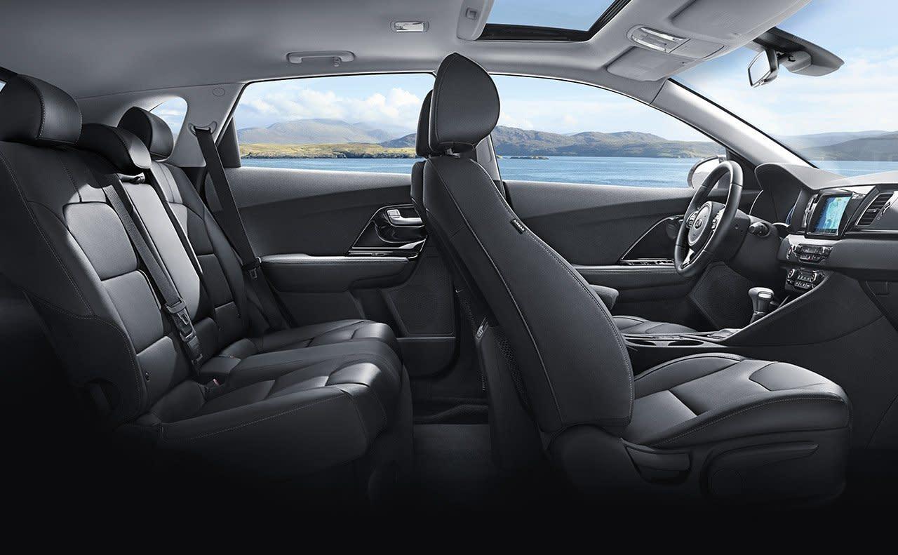 2019 Kia Niro's Spacious Interior