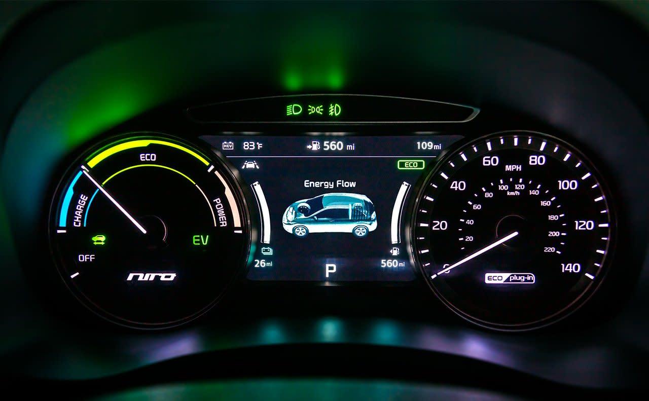 2019 Kia Niro Plug-In Hybrid Infotainment System