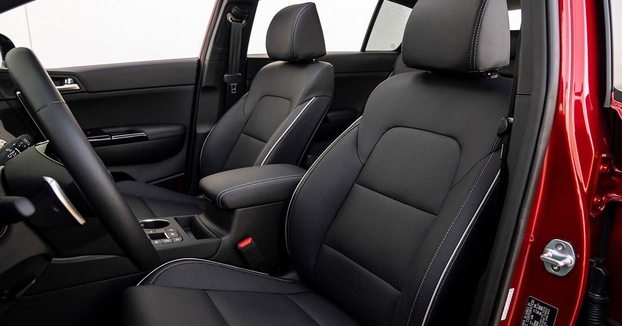Luxurious Seating in the 2020 Sportage