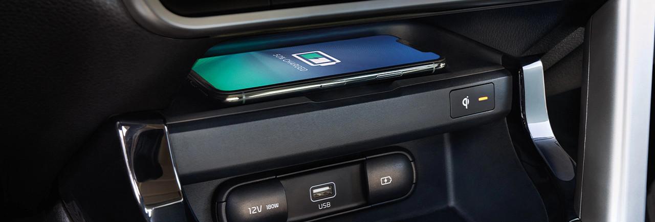 2021 Kia Seltos Available Wireless Charger