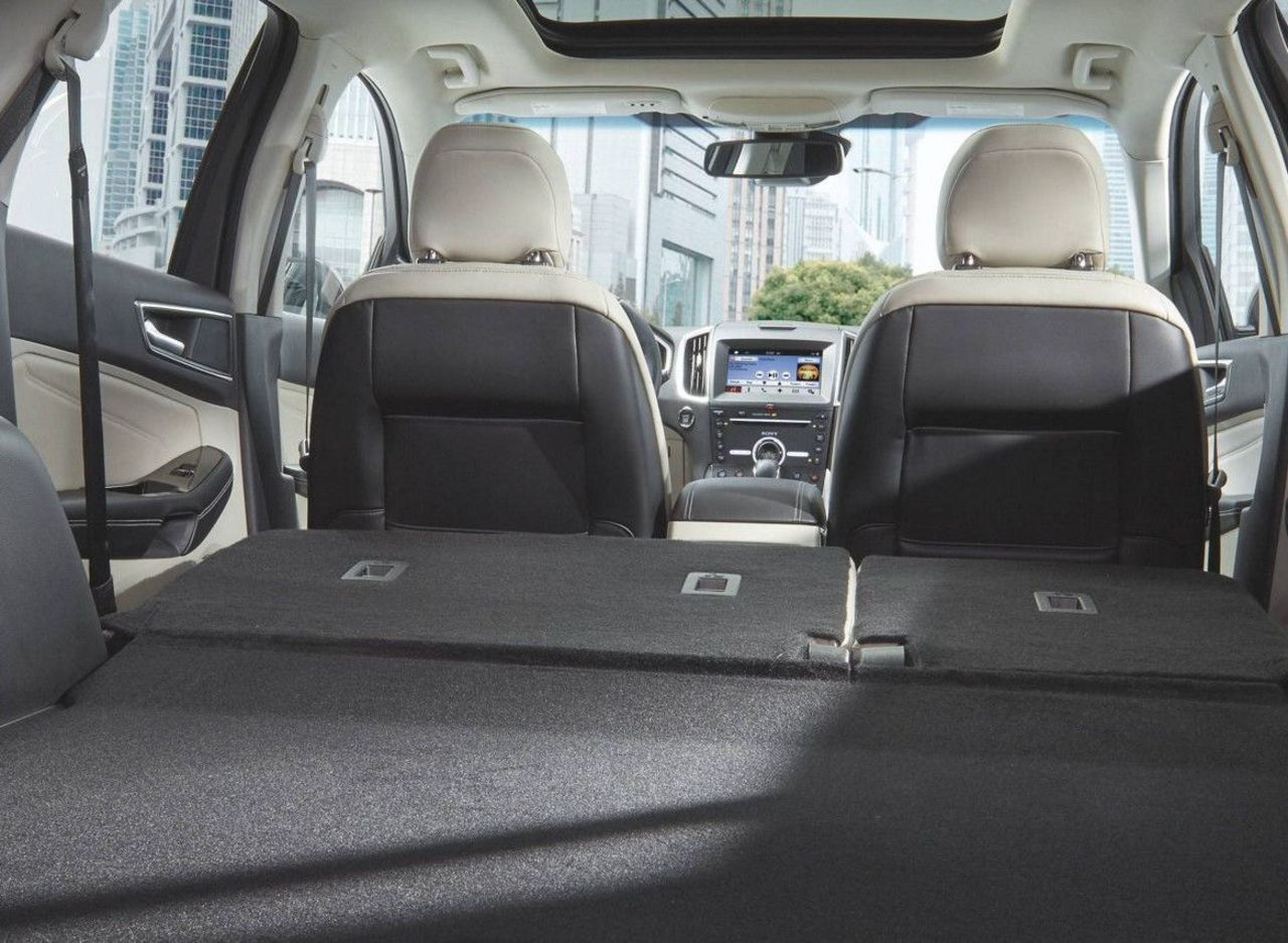 The Well-equipped Cabin of the 2017 Edge