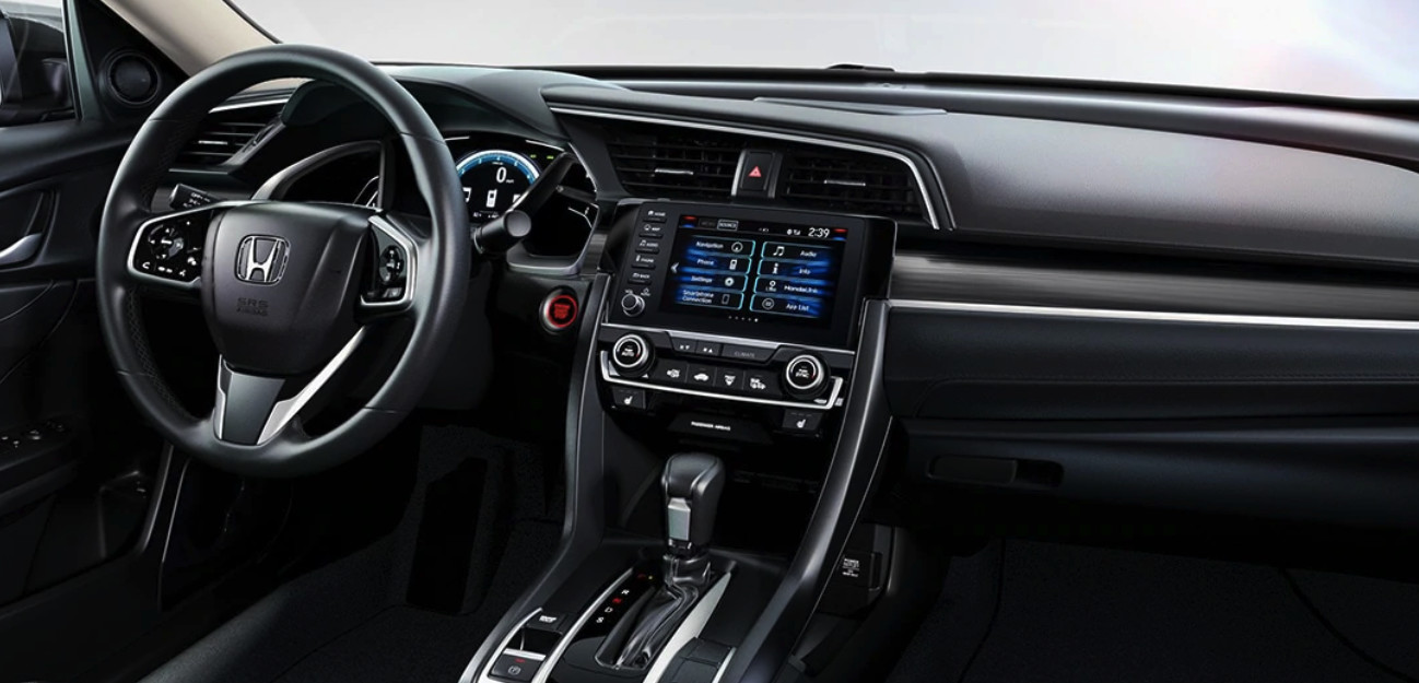 Interior del Honda Civic 2020