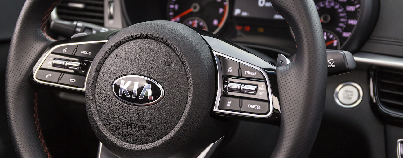 The 2019 Kia Optima and its many safety features
