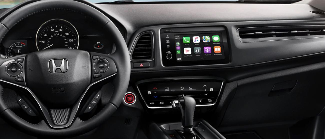 Interior of the 2020 Honda HR-V