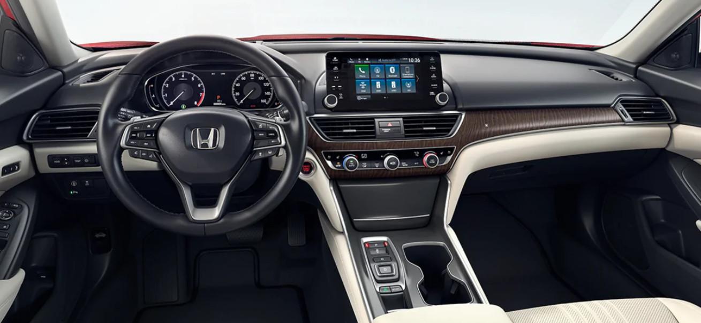 2020 Honda Accord Front Dashboard