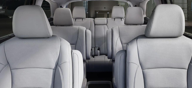 Interior del Honda Pilot 2020