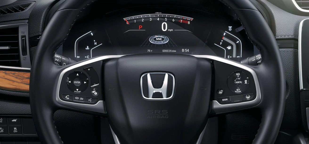 In the Driver's Seat of the 2020 Honda CR-V