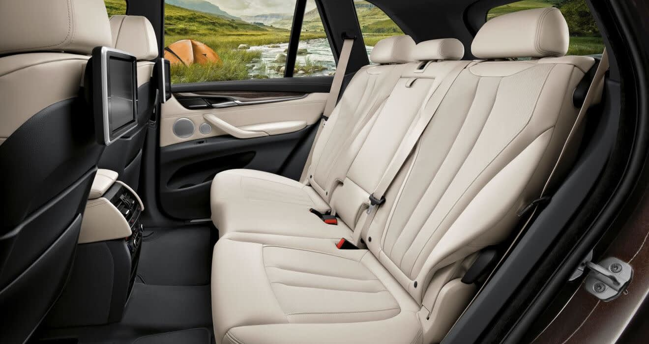 Spacious Cabin of the BMW X5