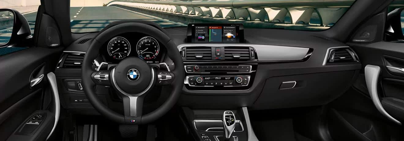 Interior of the 2019 BMW 2 Series