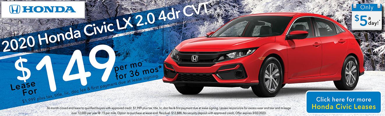 2020 Honda Civic LX 2.0