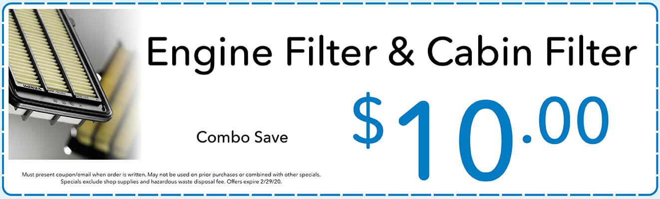 Engine Filter & Cabin Filter