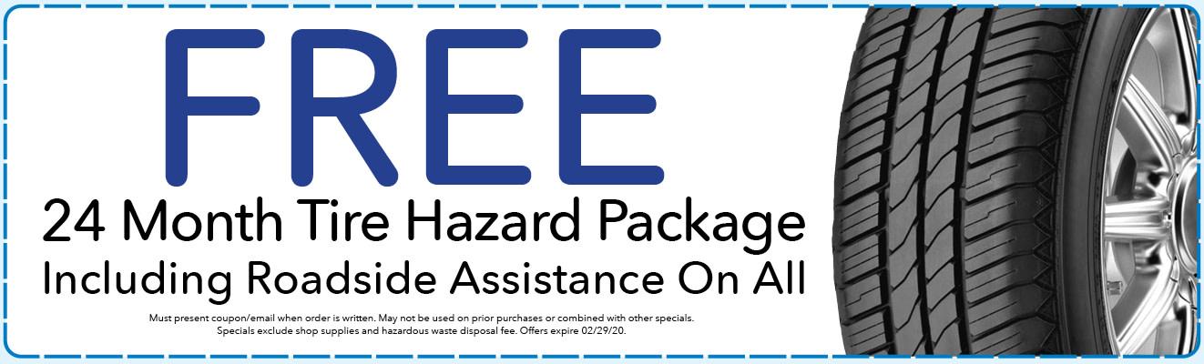24 Month Tire Hazard Package