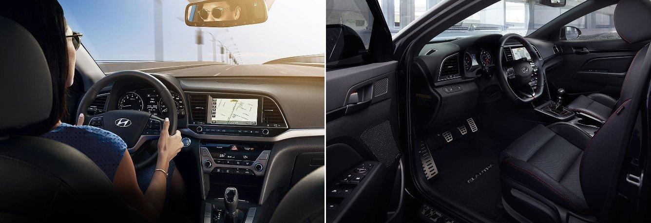 2017 Hyundai Elantra Interior Features