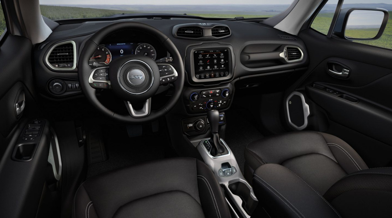 2020 Jeep Renegade Cockpit