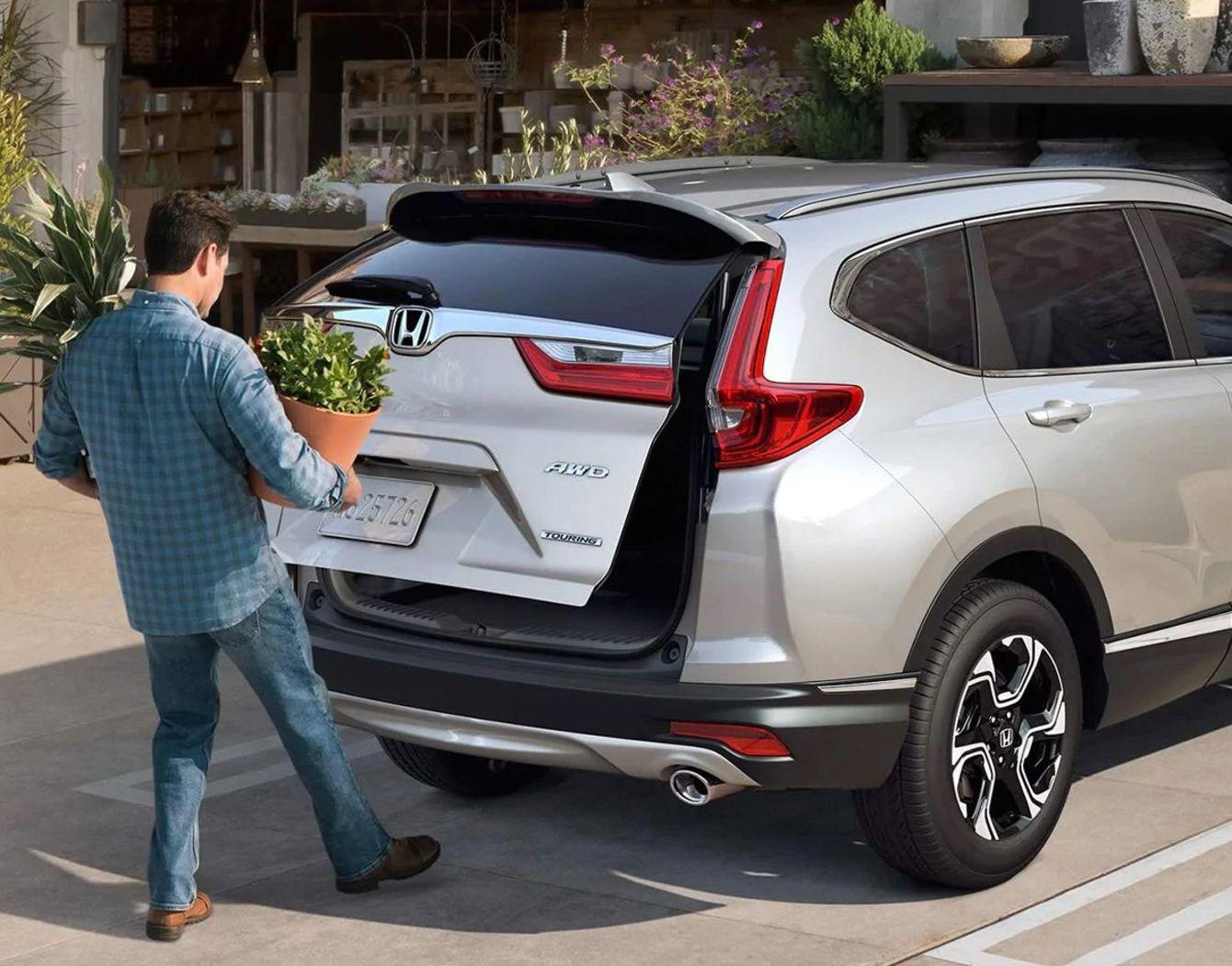 Puerta trasera eléctrica de la Honda CR-V 2019