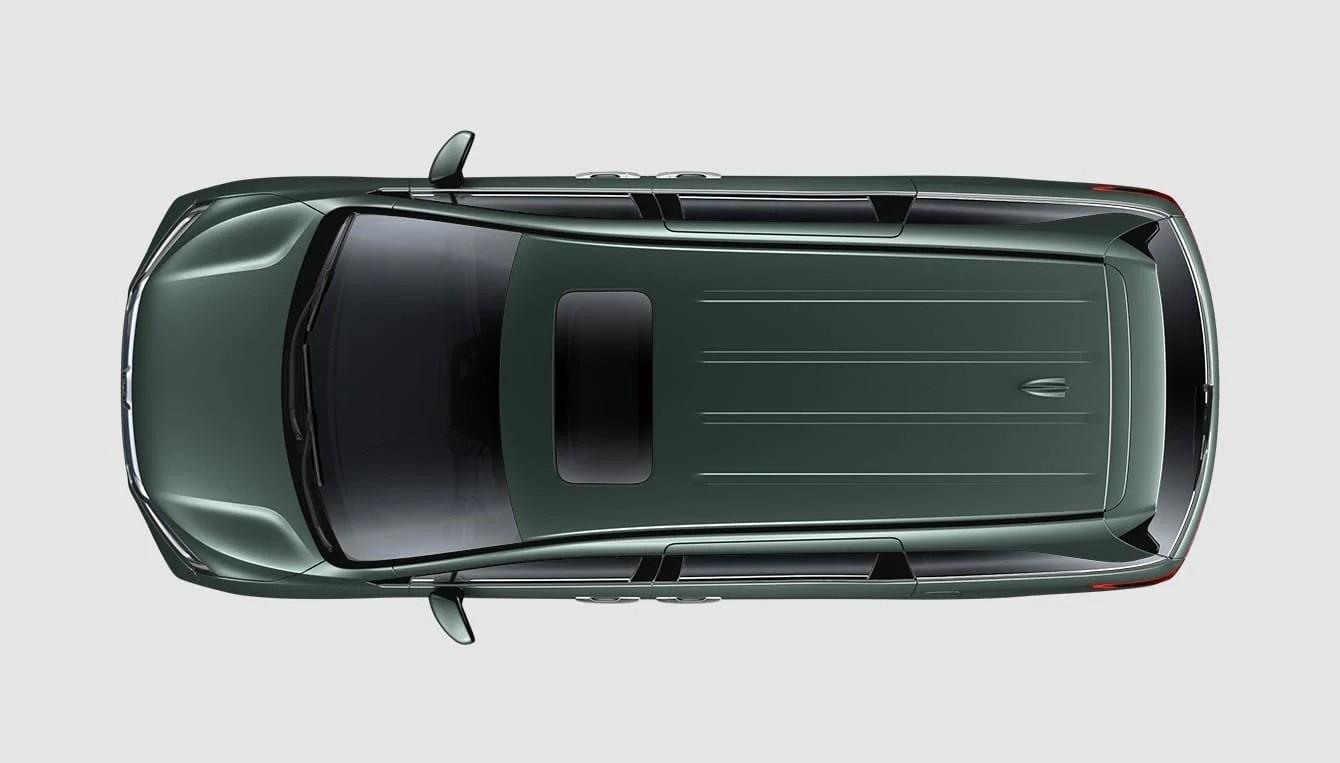 Vista superior del Honda Odyssey 2020