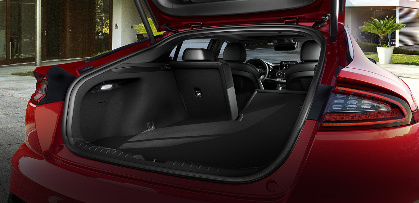 Cargo Space in the 2019 Stinger