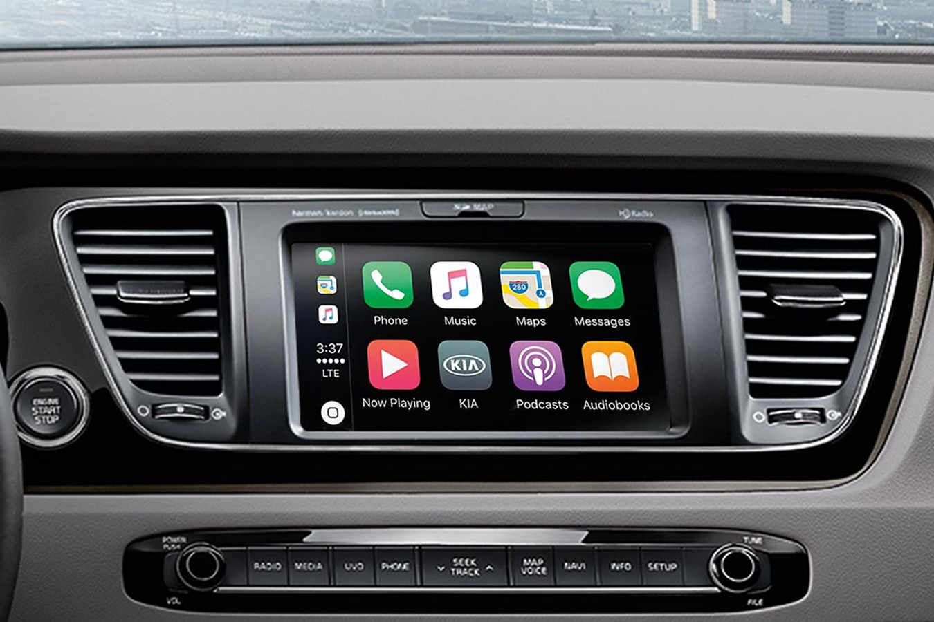 Touchscreen in the 2020 Sedona