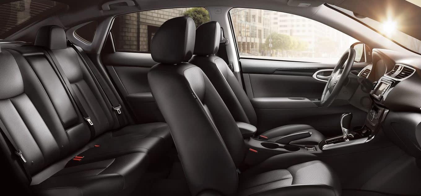 Plenty of Passenger Space in the Sentra!