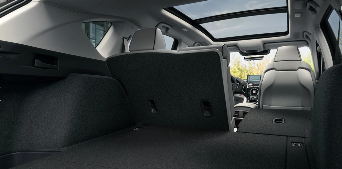 Cargo Space in the 2020 RDX