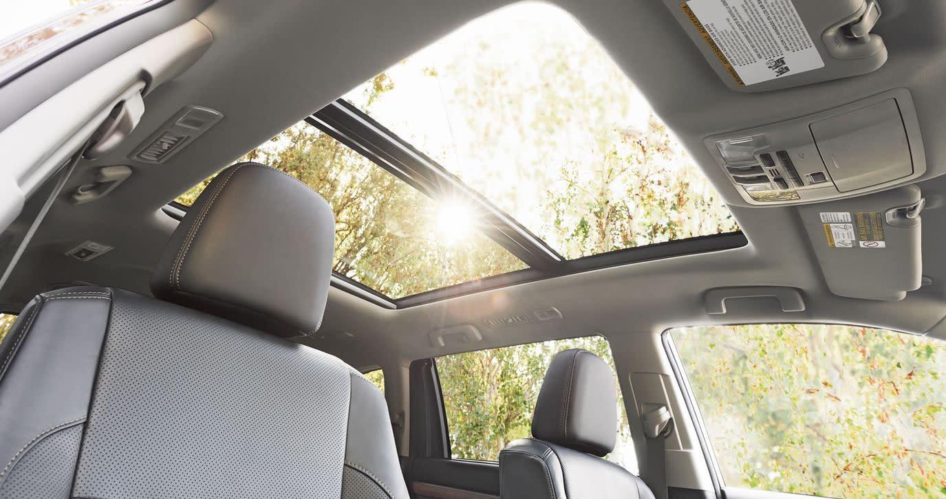 Interior of the 2018 Toyota Highlander