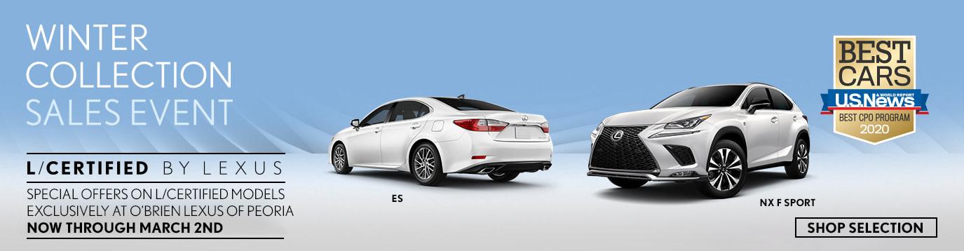 OBrien Lexus Winter Collection Sales Event