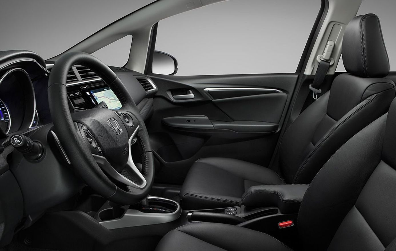 The Interior of the Honda Fit