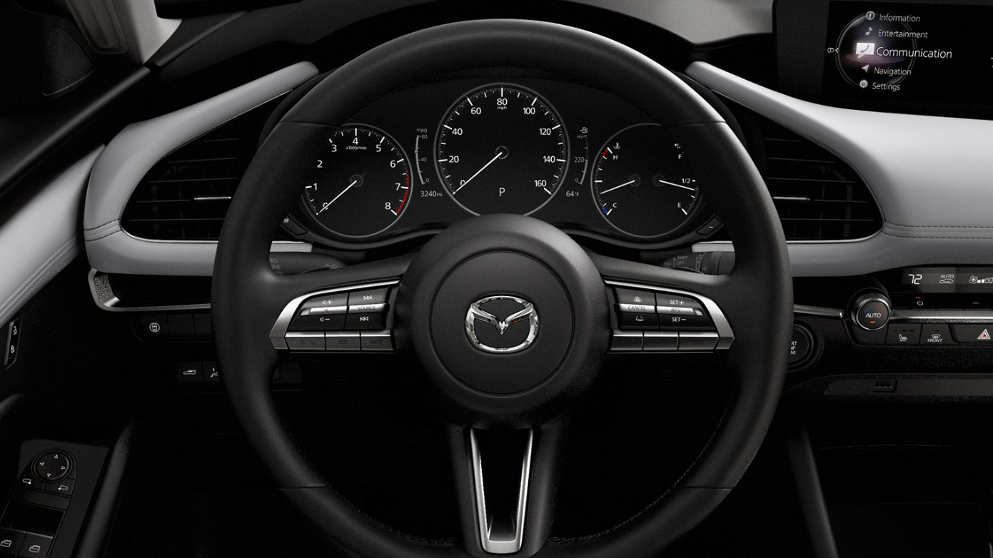 2020 Mazda3 Hatchback Steering Wheel