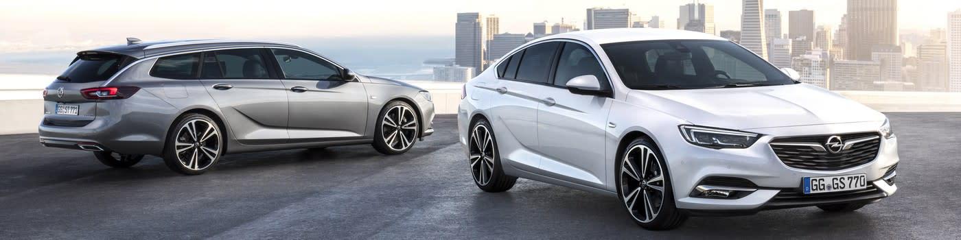 Opel Insignia modellen