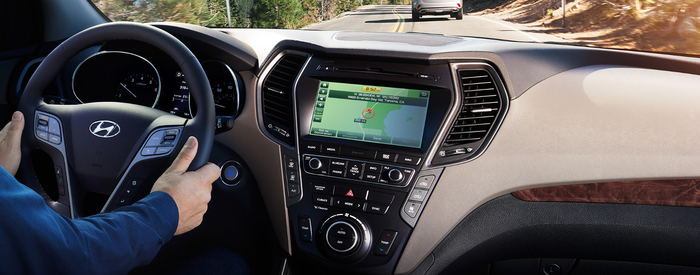 2018 Hyundai Santa Fe Interior Dashboard