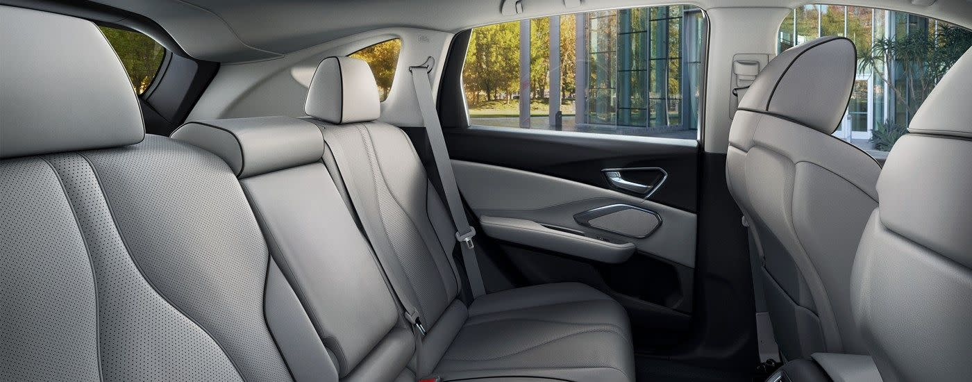 Rear Seats in the 2019 RDX