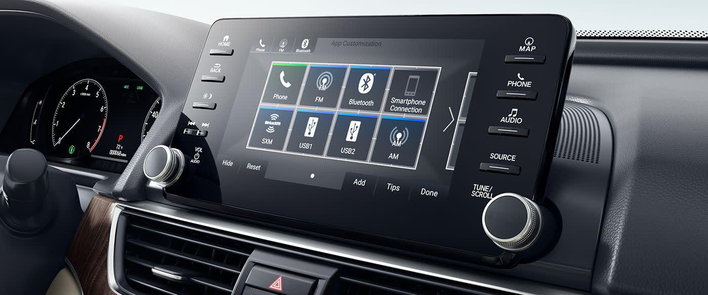 Honda Accord Infotainment Center