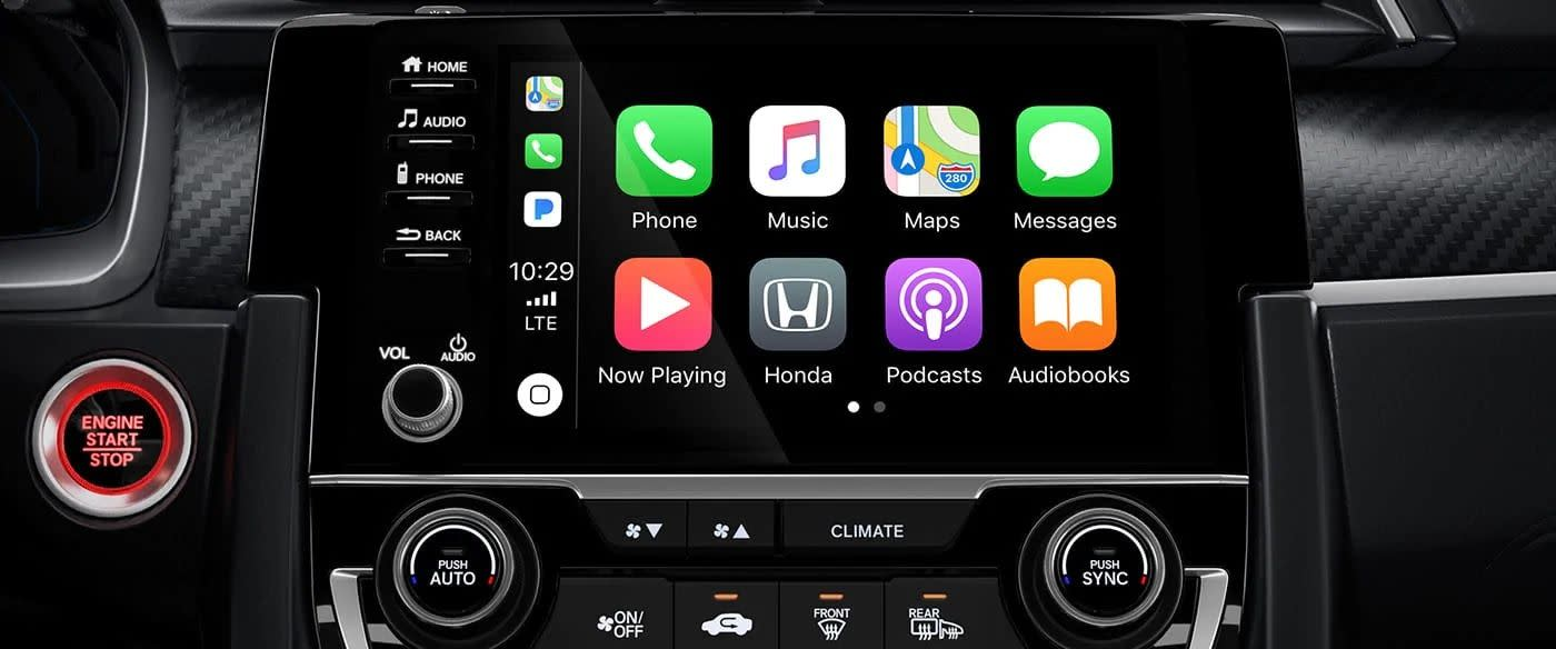 2019 Civic's Infotainment Center