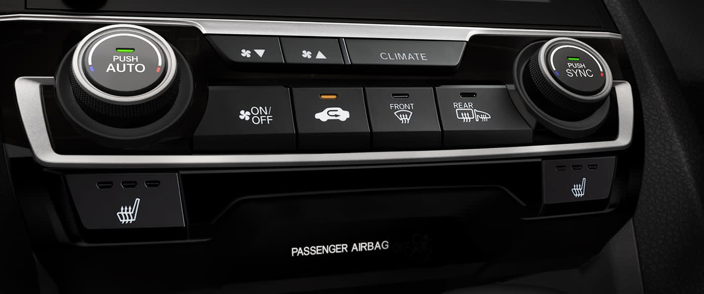 Climate Control in the 2019 Civic