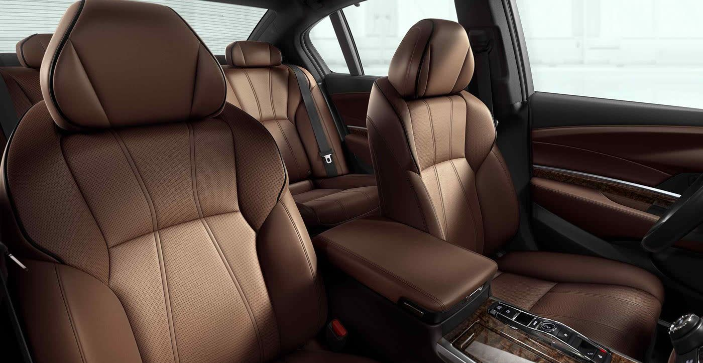Upscale Seating in the Acura RLX