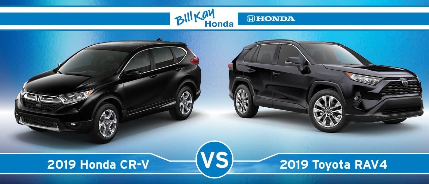 Honda CR-V vs. Toyota Rav4